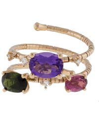 Mattia Cielo - Rainbow Rugiada Double Wrap Ring - Lyst