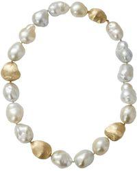 Yvel Baroque Pearl Necklace - Multicolour