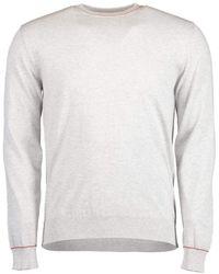 Eleventy Grigio Round Neck Jumper - Grey
