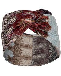 Missoni Multicolour Lurex Headband