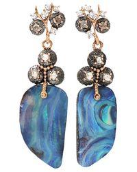 Federica Rettore - Afrodite Earrings With Boulder Opal - Lyst