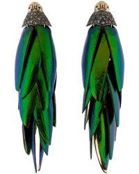 Bibi Van Der Velden - Scarab Bunch Earrings - Lyst