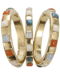 Vaubel - Square Stone Triple Bangle - Lyst