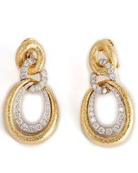 David Webb Madison Earrings - Metallic