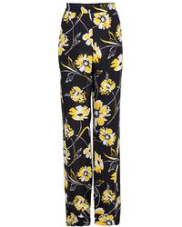 Michael Kors Floral Pyjama Pant - Yellow