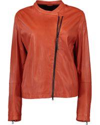Brunello Cucinelli - Glove Leather Jacket - Lyst