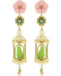 Of Rare Origin - Aviary Classic Birdcage Earrings - Lyst