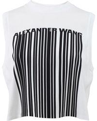 Alexander Wang Barcode Logo Tank