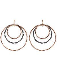 Gemfields X Muse - Ruby 4 Hoop Earrings - Lyst