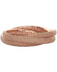 Mattia Cielo Universo Cognac Diamond Trio Bracelet - Multicolour