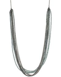 Brunello Cucinelli - Monili Multi Color And Strand Wrap Necklace - Lyst