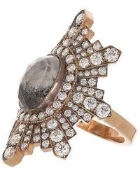 Sylva & Cie Stella Diamond Ring - Metallic