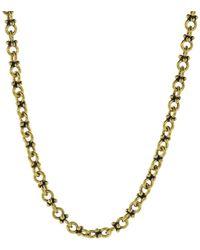 John Varvatos Brass Double Round Chain - Metallic