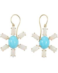 Andrea Fohrman | Sleeping Beauty Turquoise Earrings | Lyst