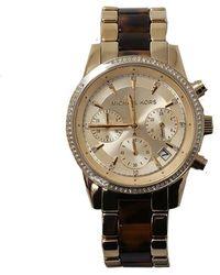 Michael Kors Ritz Acetate Chrono Watch - Multicolour