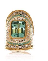 Buddha Mama Green Beryl Ring