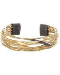 Boaz Kashi Gold & Silver Diamond Bracelet - Metallic