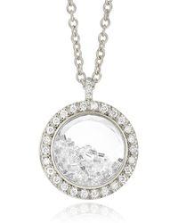 Moritz Glik Diamond Kaleidoscope Shaker Necklace - Metallic