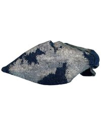 NAMJOSH Silver Foil Headband - Blue