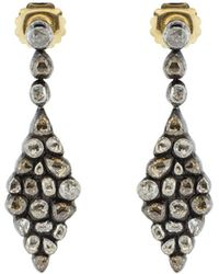 Yossi Harari - Cascade Diamond Earrings - Lyst