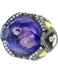 Sevan Biçakci - Swan Amethyst Ring - Lyst