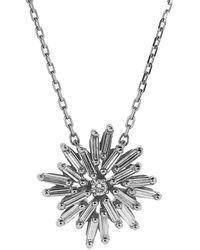 Suzanne Kalan Diamond Star Pendant Necklace - Metallic