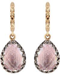 Larkspur & Hawk Lady Jane Small Pear Drop Earrings - Multicolor