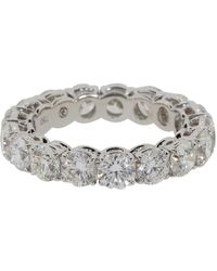 Bayco Diamond Eternity Ring - Metallic