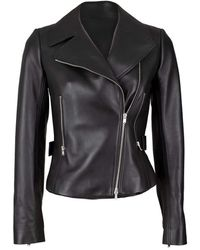 Alaïa Edition 2003 Leather Biker Jacket - Black