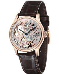 Earnshaw - Bauer Mechanical Skeleton Watch - Lyst