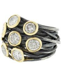 Boaz Kashi - Diamond Wrap Ring - Lyst