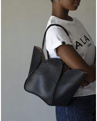 Alaïa Lili 22 Mini Tote Bag - Black