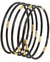 Gurhan Jet Set Wraparound Coil Bracelet - Multicolour