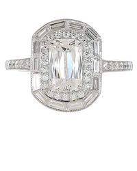 Kwiat Ashoka And Baguette Diamond Ring - Metallic
