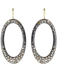 Todd Reed - Diamond Pave Drop Earrings - Lyst