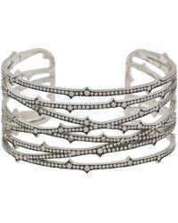 Sylva & Cie - Diamond Thorn Cuff Bracelet - Lyst