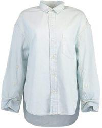 Citizens of Humanity Bungalow Kayla Shirt - Blue