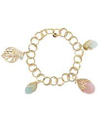 Federica Rettore Bocciolo Charms Bracelet - Multicolour