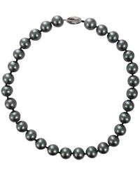 Fantasia Jewelry | Grey Pearl Necklace | Lyst