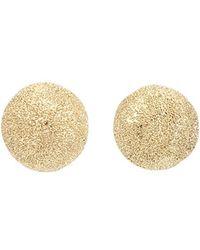 Carolina Bucci - Mirador Small Sparkly Gold Earrings - Lyst