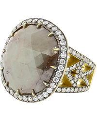 Sylva & Cie - Rough Diamond Ring - Lyst