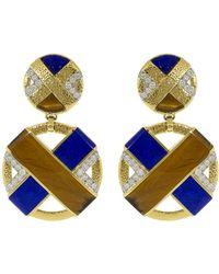 David Webb - Xo Earrings - Lyst