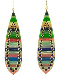 Mark Davis - Multi Color Bakelite Earrings - Lyst