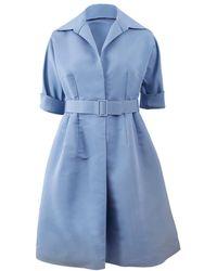 Catherine Regehr Classic Shirt Dress - Blue