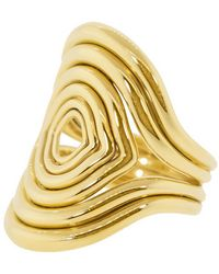 Fernando Jorge Rounded Lines Ring - Metallic