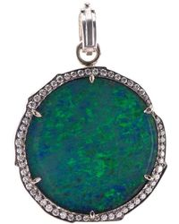 Sylva & Cie Opal Pendant - Multicolour
