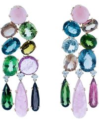 Irene Neuwirth - One Of A Kind Chandelier Earrings - Lyst