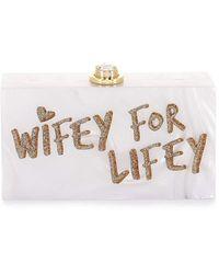 Sophia Webster Cleo Wifey For Lifey - Multicolour