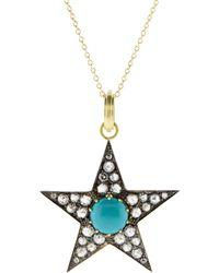 Sylva & Cie - Large Turquoise Star Pendant - Lyst