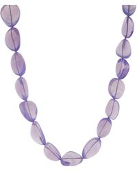 Victor Velyan - Moon Quartz Beaded Necklace - Lyst
